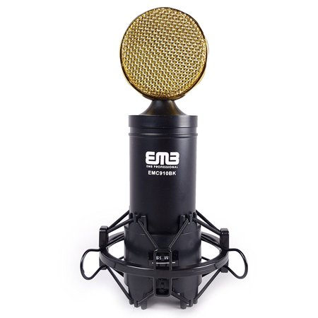 EMB EMC910 Professional High-Performance Multi-Pattern Large Diaphragm Condenser Project Studio Microphone