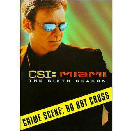 Csi  Miami  The Sixth Season  Widescreen