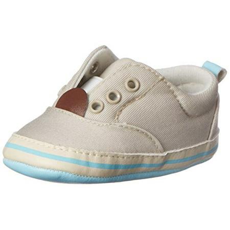 Rugged Bear Boys' RB28300-K Sneaker, Beige, 2 M US Infant - Bear Feet Shoes Clearance