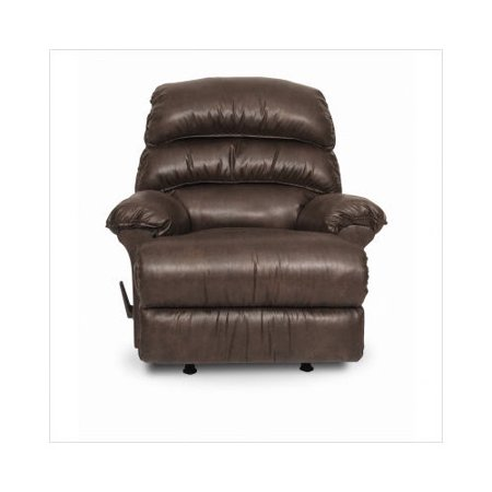 Berkline gunslinger rocker recliner in chocolate for Berkline chaise recliner