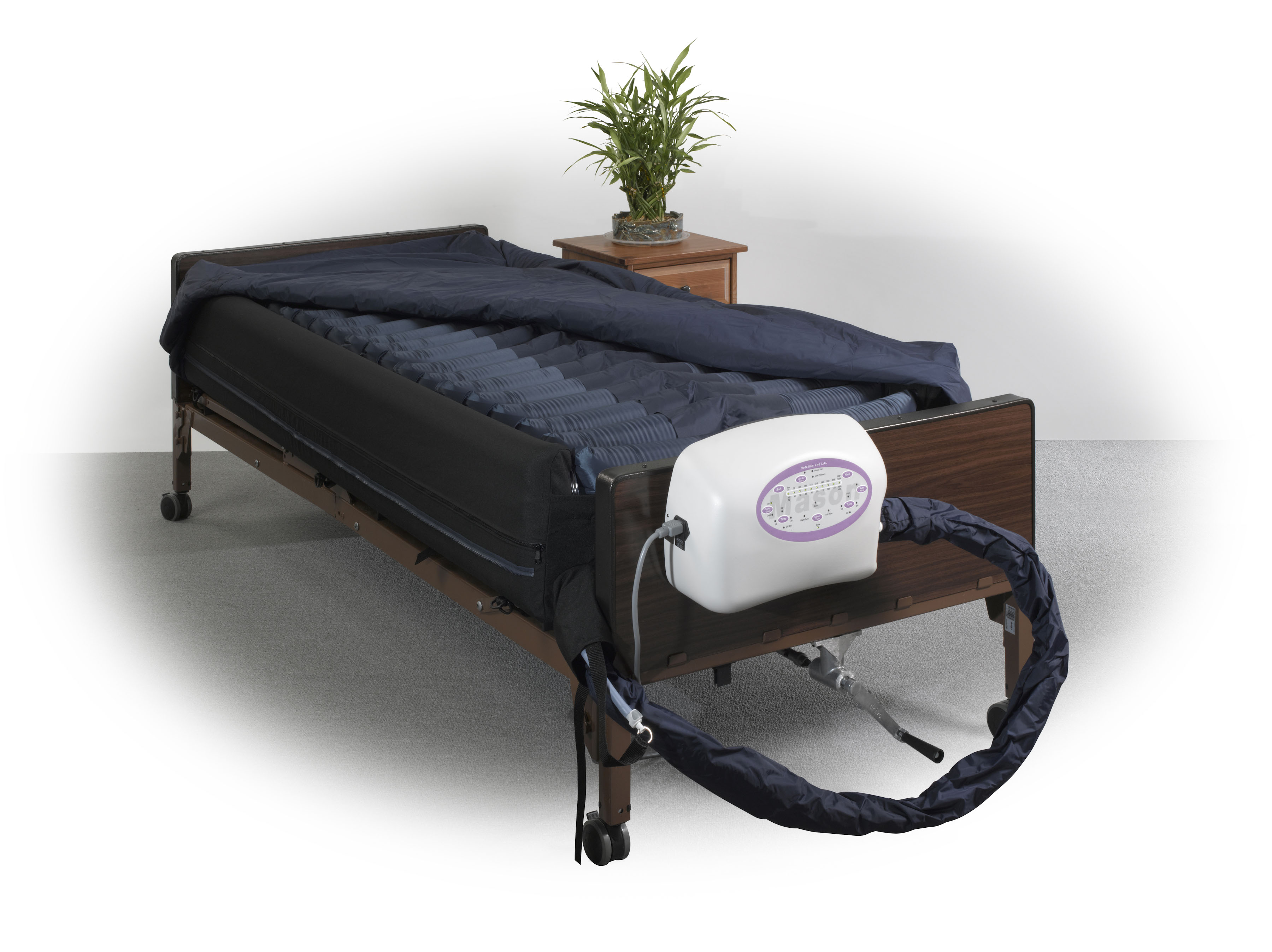 """Drive Medical Lateral Rotation Mattress with on Demand Low Air Loss, 10"""" by Drive Medical"""