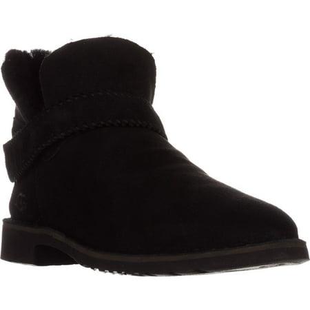 aba6c72300b Womens UGG Australia Mckay Short Winter Boots, Black Suede