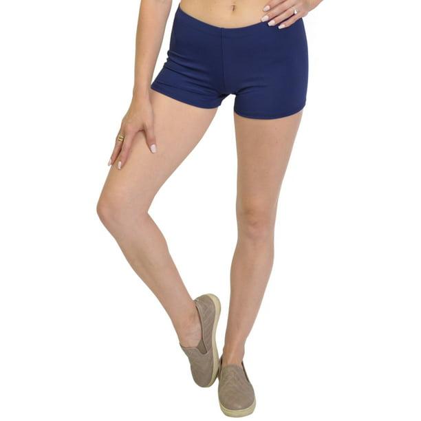 Stretch is Comfort Girls NYLON SPANDEX Stretch Booty Shorts
