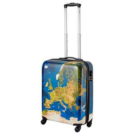 Cabin Suitcase (Cabin Max Icon - ABS Lightweight Luggage Suitcase Travel Trolley Carry-on Cab... )
