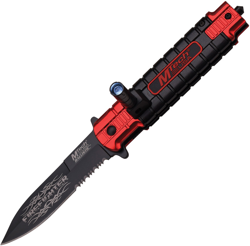 M-Tech Spring Assisted Folding Knife MT-A859RD