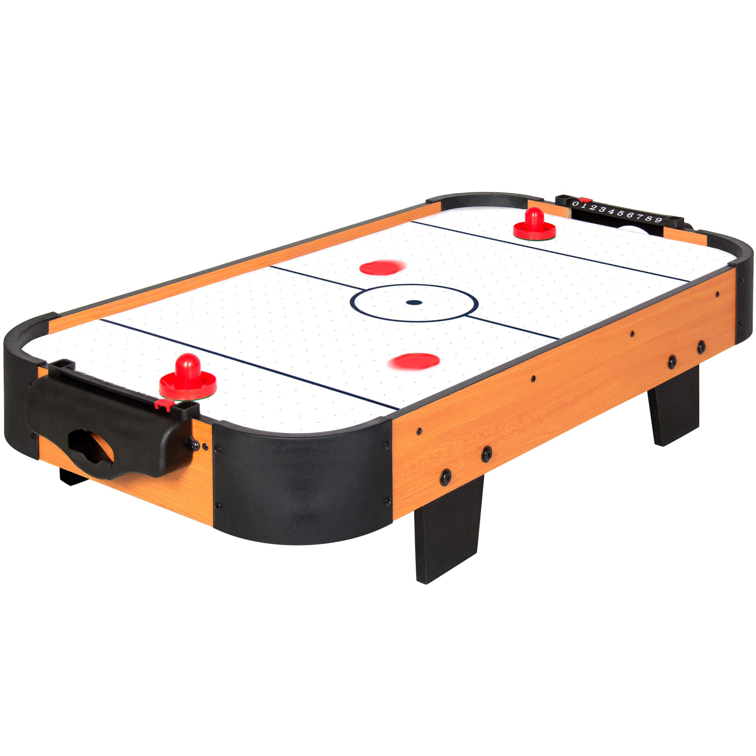 Hathaway air hockey 3 strikers and 2 5 puck set for Table hockey