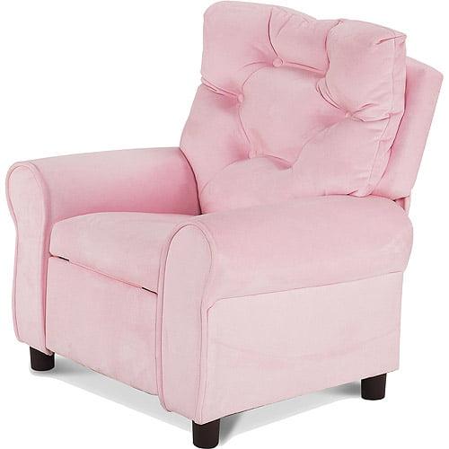 Hannah Baby Kid's Recliner in Pink