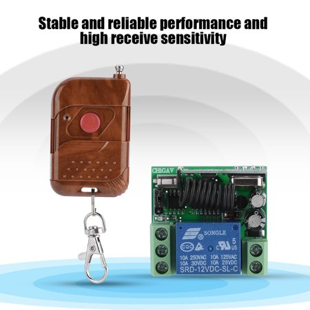 12V Single CH 433MHz Multifunction Wireless Remote Control Relay Switch ,  Wireless Remote Control Switch,Relay Switch