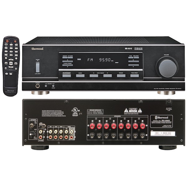 Sherwood RX-5502 Multi-Source Dual Zone A/V Receiver