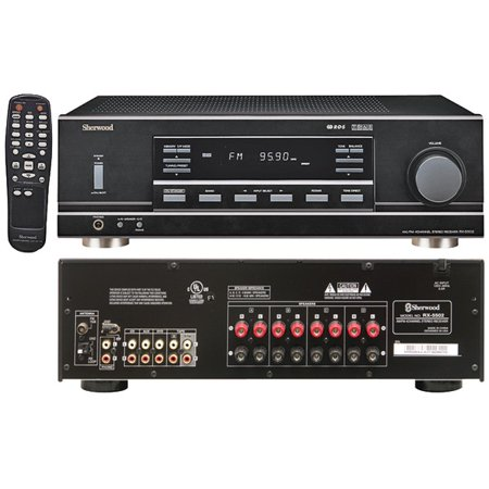 SHERWOOD RX-5502 4-Channel, 100-Watt Multisource, Dual-Zone A/V Receiver ()