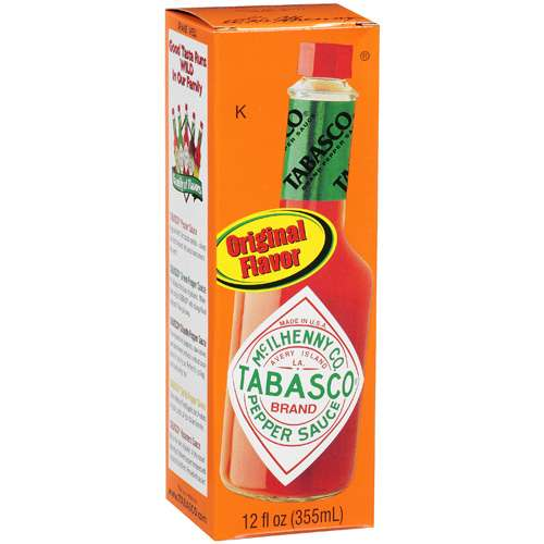 Tabasco Original Flavor Pepper Sauce, 12 oz
