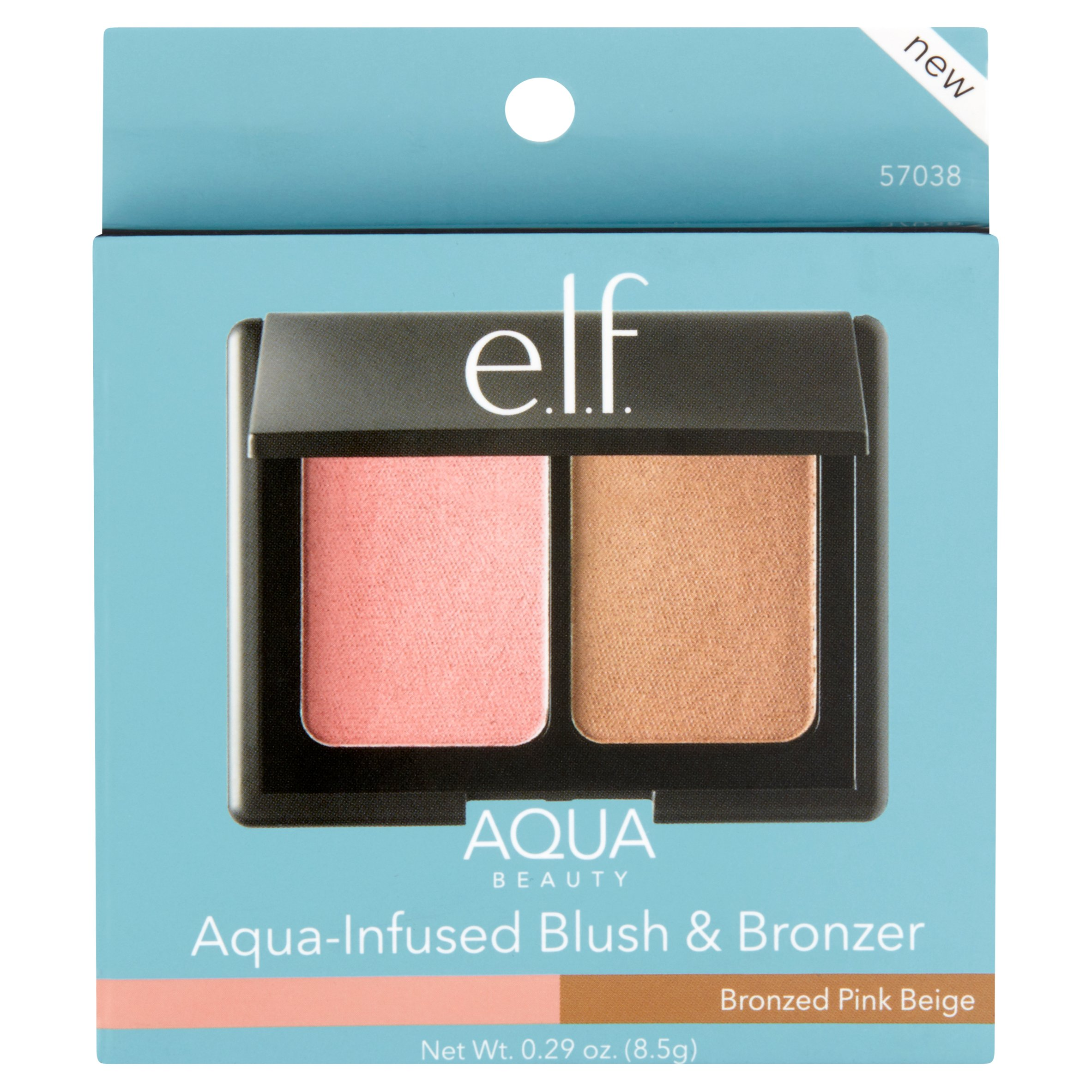 e.l.f. Cosmetics Aqua Beauty Blush & Bronzer, Bronzed Pink Beige