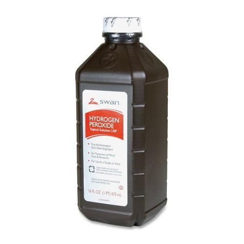 Vi-Jon Brands VIJGHYD208143 Hydrogen Peroxide Topical Solution - 16 oz.
