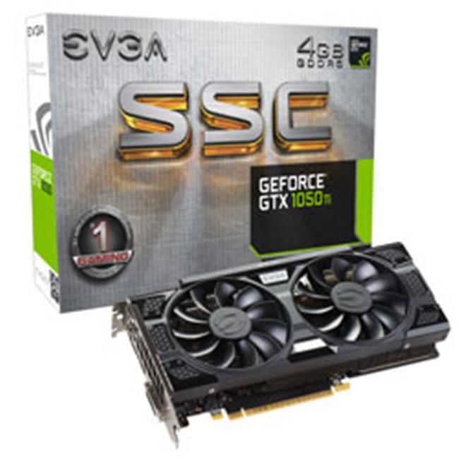 EVGA Geforce Gtx1050ti 4GB Ssc Gam - Geforce Gtx1050ti 4GB Ssc Gam