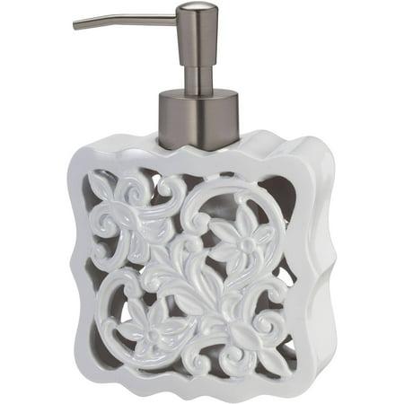 Creative Bath Belle Resin White Lotion Pump