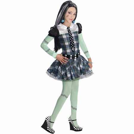 Monster High Frankie Stein Child Halloween Costume (Halloween Frankie Human Steins)