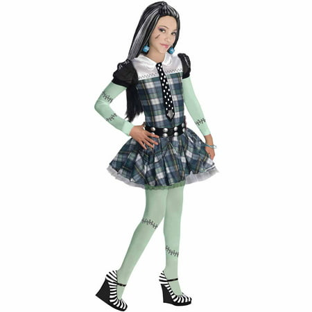 Monster High Frankie Stein Child Halloween Costume](Monster High Costumes 13 Wishes)