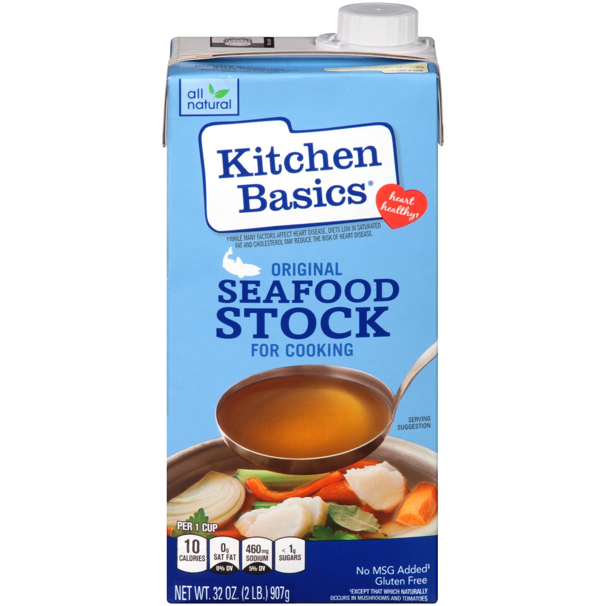 Kitchen Basics: Kitchen Basics Original Seafood Stock, 32 Fl Oz