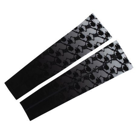 XINTOWN Authorized Unisex Cycling Football Arm Sleeves Cover Warmer #8 2XL (Cycling Arm Warmers)