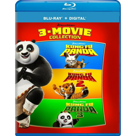 Kung Fu Panda: 3-Movie Collection (Blu-ray + Digital Copy)