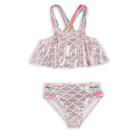 Girl's 2-Piece Mermaid Bikini Swim Set ()