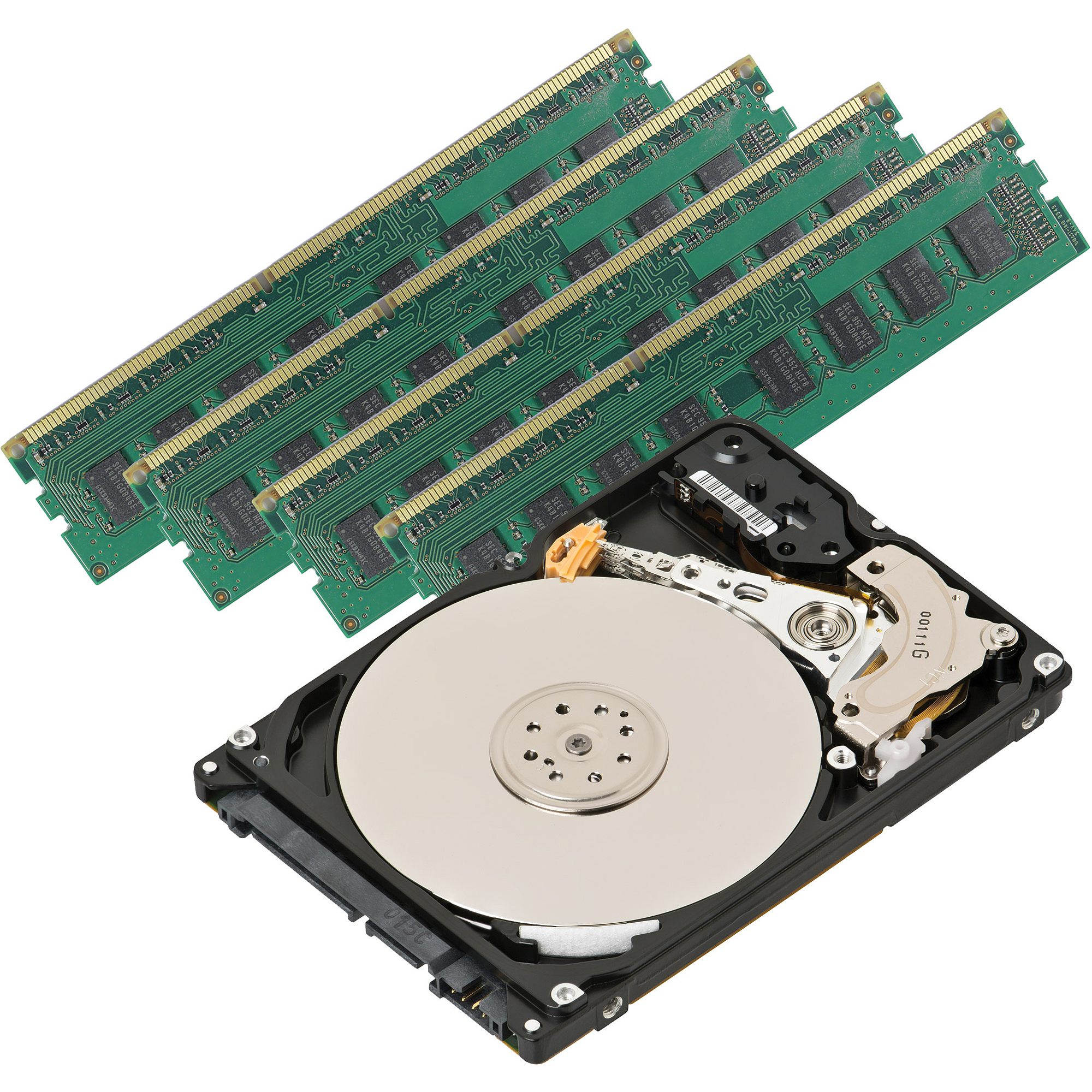 16GB DDR3 Memory + 2TB Hard Drive