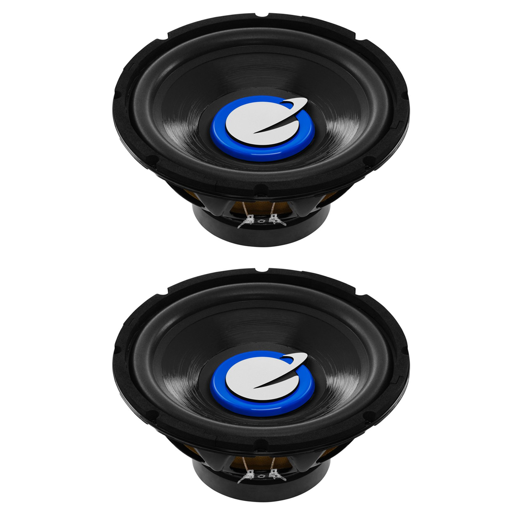 Planet Audio Torque TQ10S 10 Inch 1200 Watt 4 Ohm Car Audio Subwoofer (2 Pack)