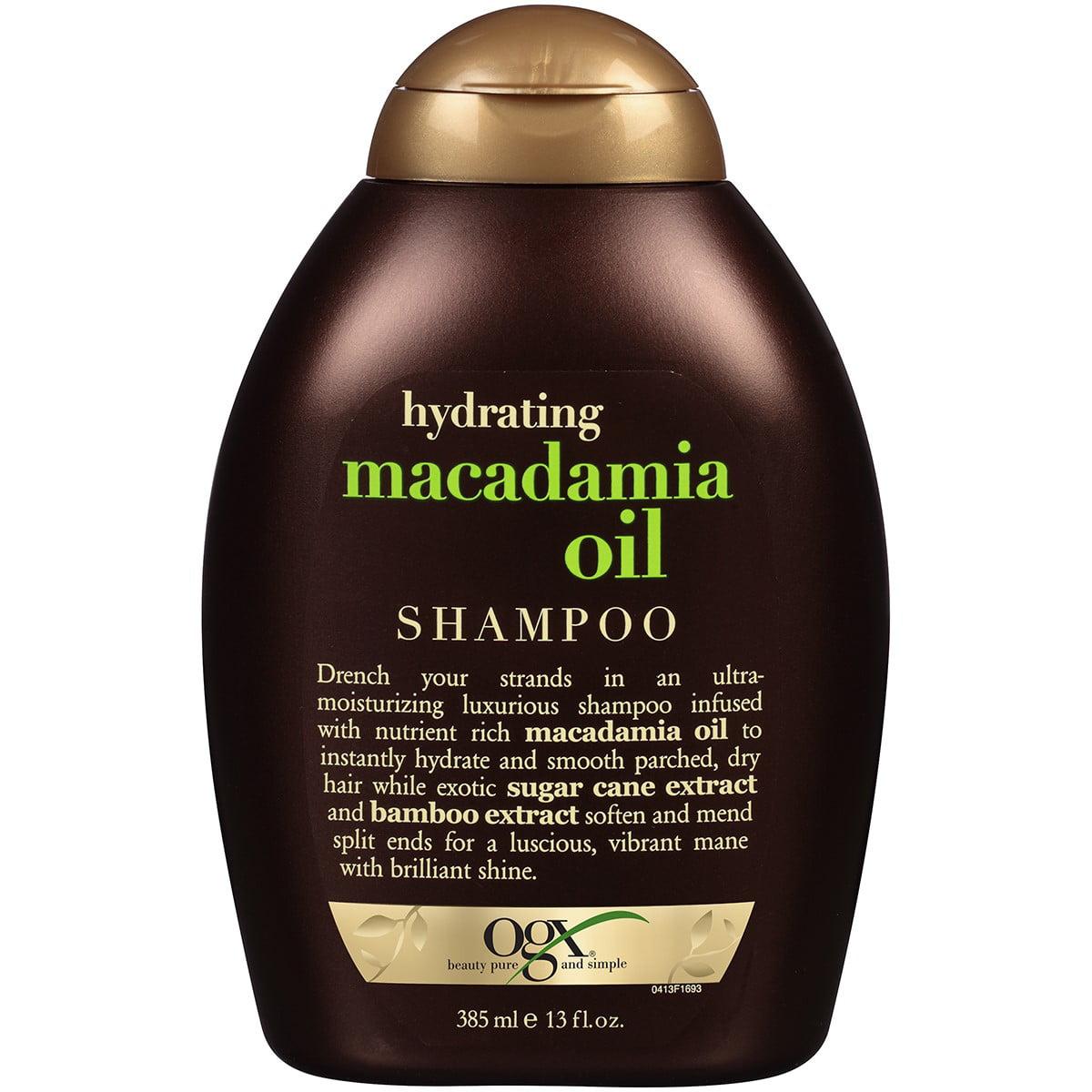 OGX Hydrating Macadamia Oil Shampoo, 13 Oz