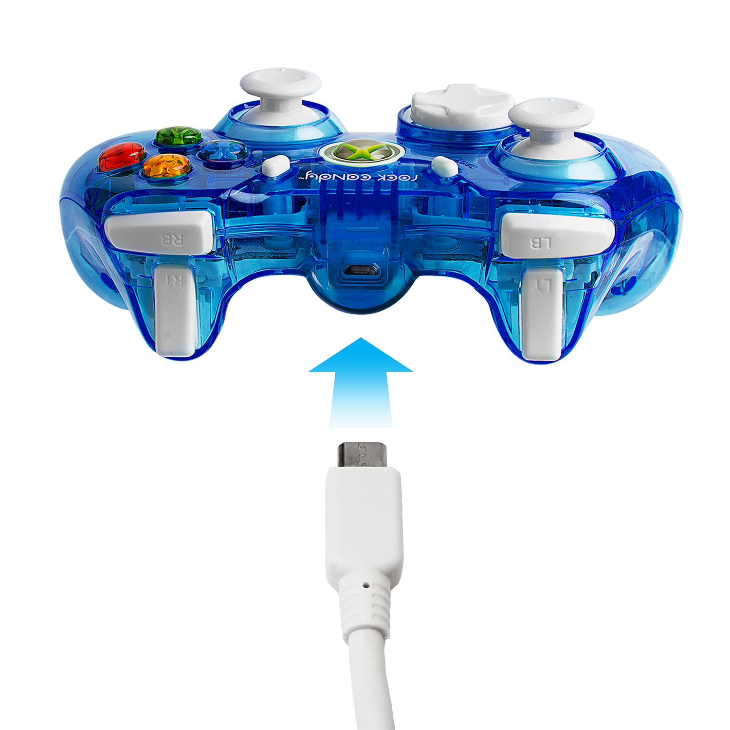 Pdp Rock Candy Xbox 360 Wired Controller Blueberry Boom 037 010 Na Holiday Brilliance Light Wiring Diagram Bl