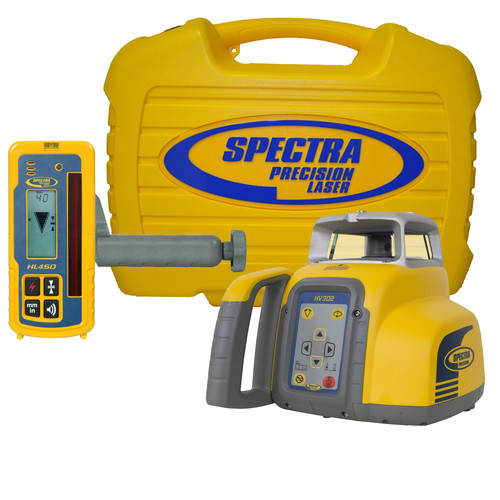Spectra Precision HV302 HV302 GC Package with HL450 Receiver and Ni-MH Batteries