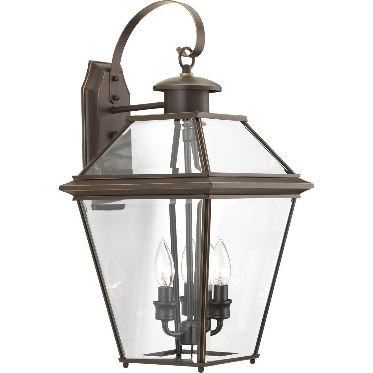 Burlington Collection Three-Light Large Wall Lantern