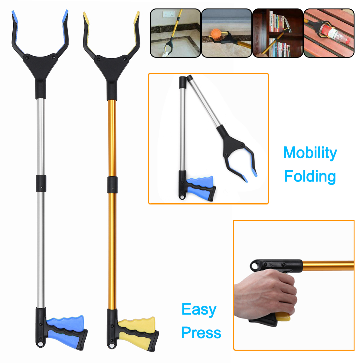 Strong Magnetic Pick Up Tool-18/'/' Long-Great For Hard To Reach Places USA SELLER