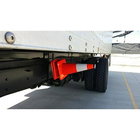 Semi Truck & Straight Truck Street Facing Safety Cone Holder (Street Cones)