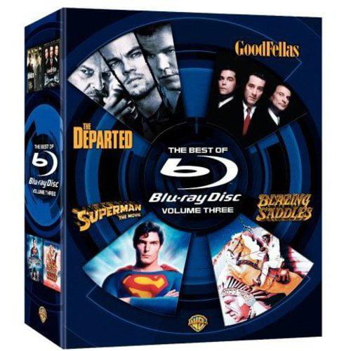 Best Of Blu-ray, Vol. 3: Blazing Saddles / Departed / Goodfellas / Superman Returns