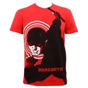 Michael Cho Marvel Comics Daredevil Adult Big Print Subway T-Shirt Tee