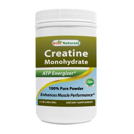 Best Naturals Creatine Monohydrate 1 Lb Pure (Best Creatine For Men)