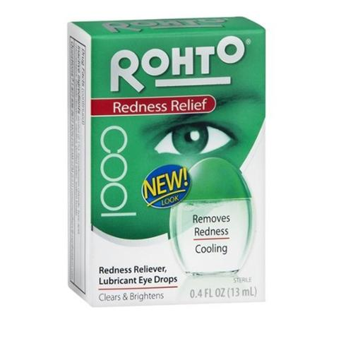 Rohto Cool Eye Drops 0.40 oz (Pack of 4)