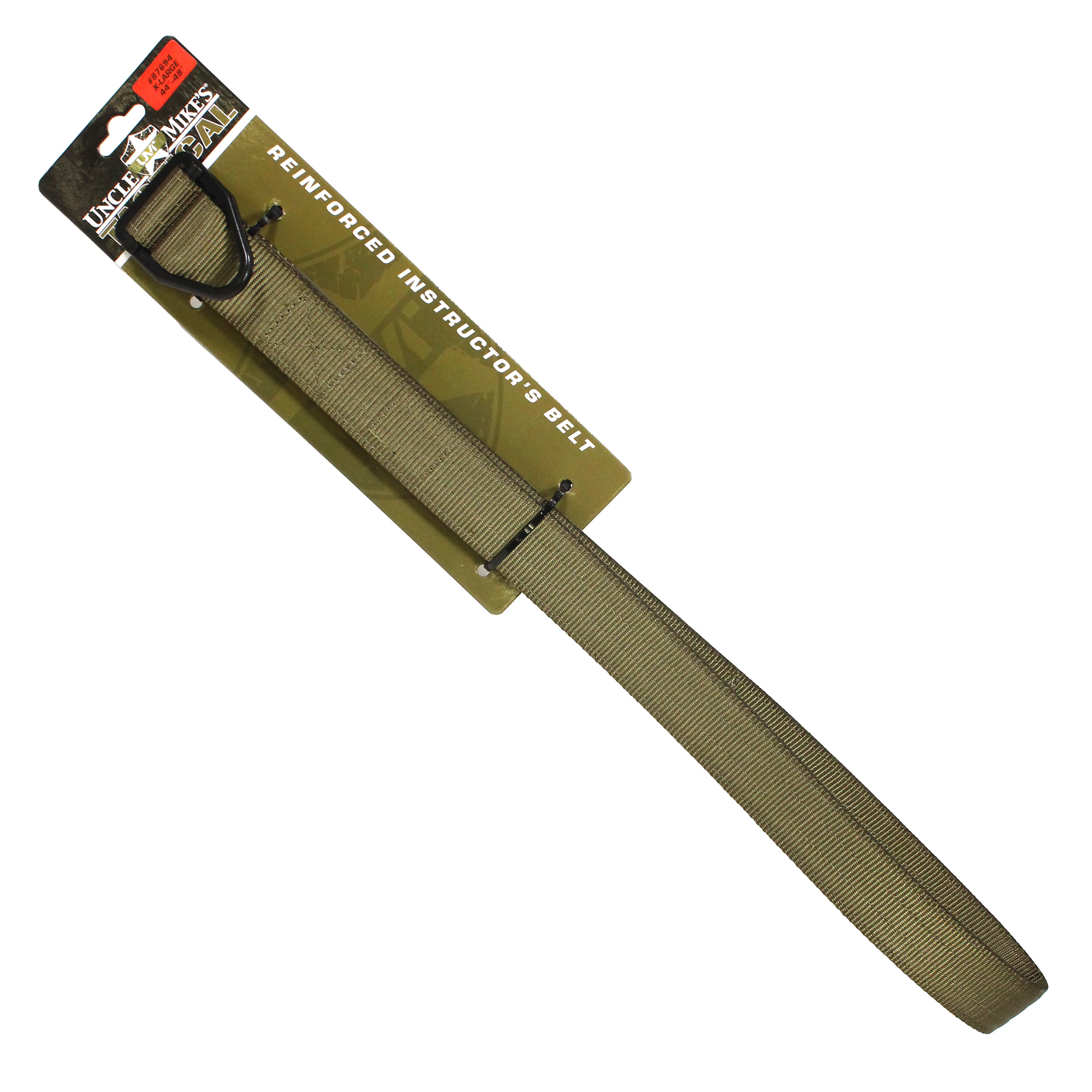 Uncle Mikes Reinforced Instructor Belt X-Large, Green