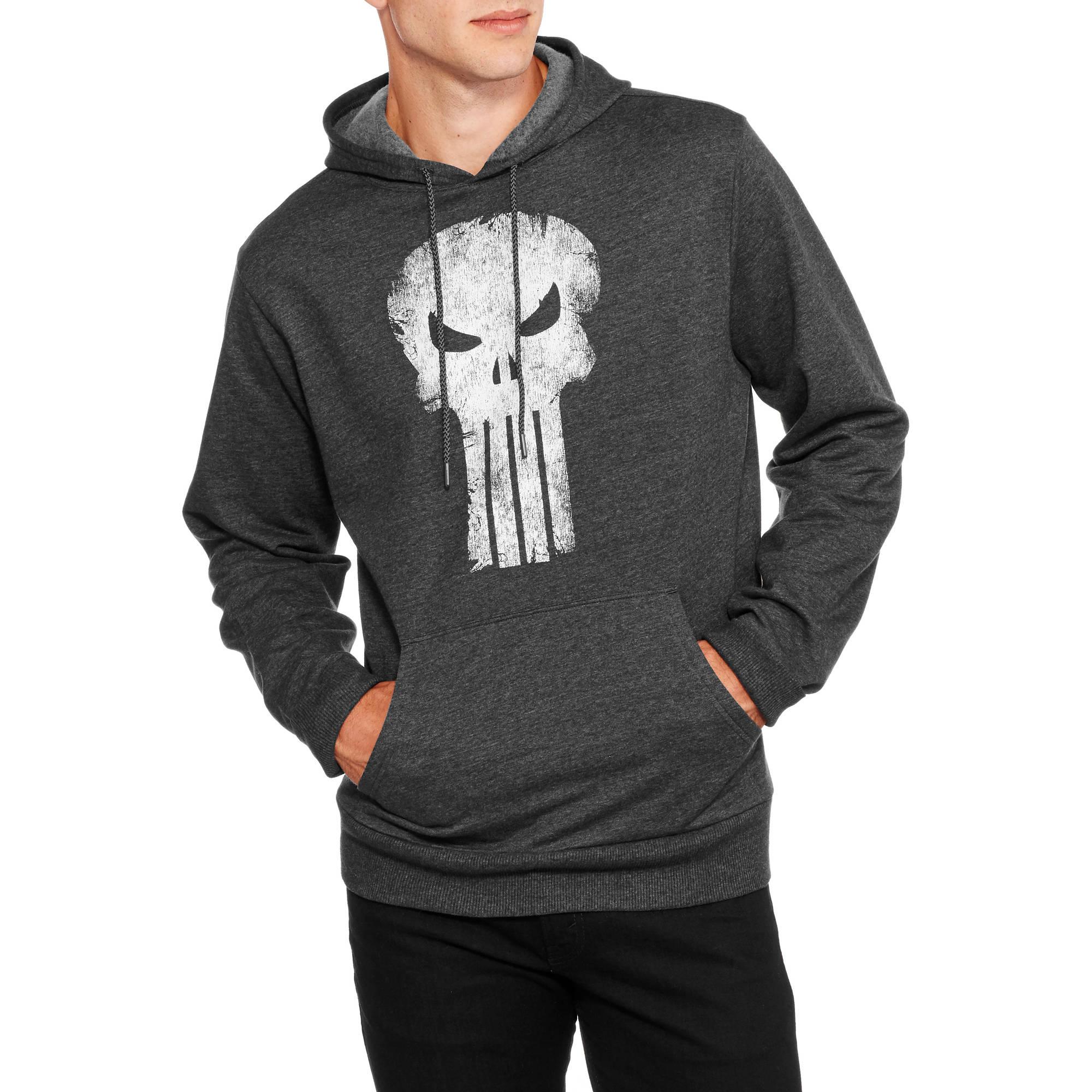 Punisher Skull Men's Pullover Hoodie