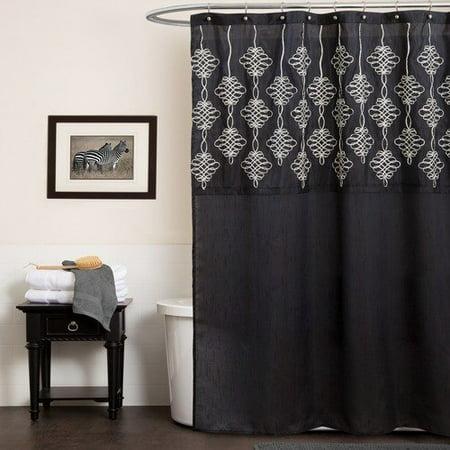 Lush Decor Isabella Shower Curtain