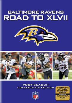 NFL-BALTIMORE RAVENS-ROAD TO XLV11 (DVD 4DISCS) (DVD) by Gaiam