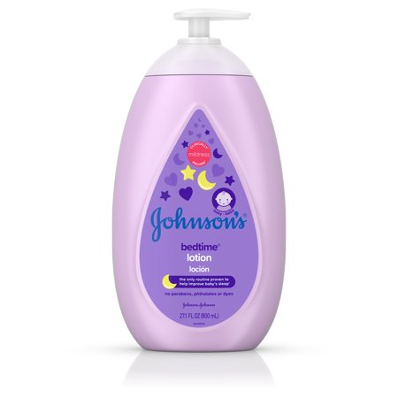 Johnson's Bedtime Baby Lotion with NaturalCalm Essences, 27.1 fl.
