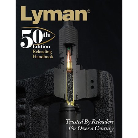 Lyman Load Data Book 50th Edition Reloading, Hard