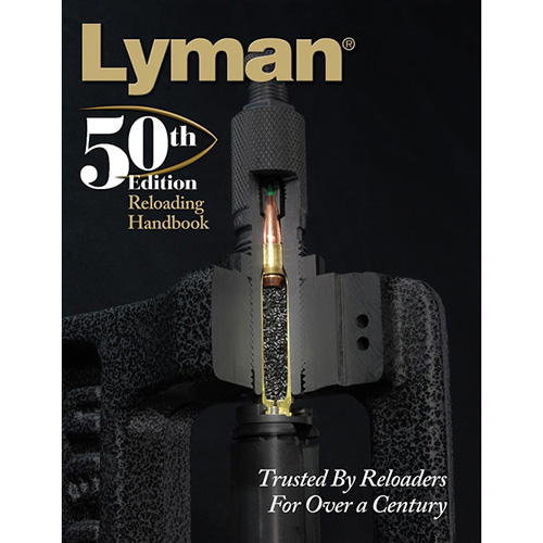 Lyman Load Data Book 50th Edition Reloading, Hard Cover