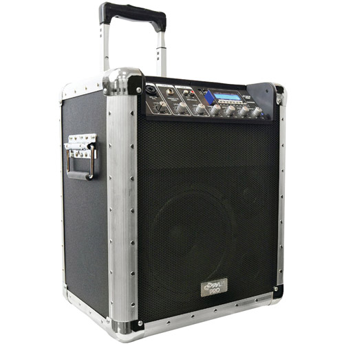 PylePro Pcmx260mb Battery Powered Portable PA System with USB/SD/MP3 Inputs