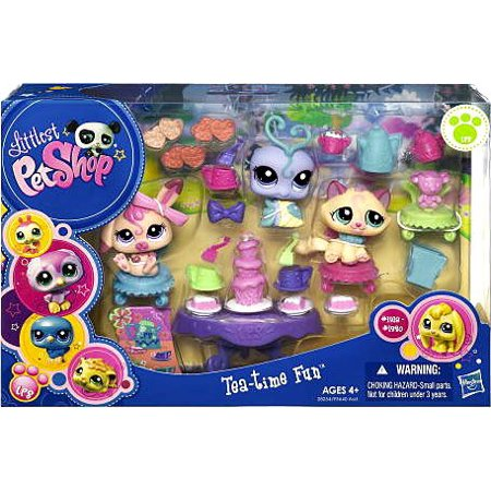 Littlest Pet Shop Figures Themed Playset Tea Party Teatime Fun - Littlest Pet Shop Birthday Party