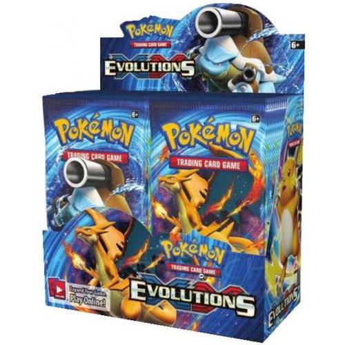 Pokemon Card Game XY Evolutions Booster Box 36 packs of 10 cards each by Pokemon