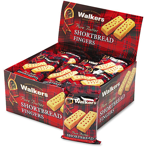 Office Snax Walker's Shortbread Cookies, 24 ct