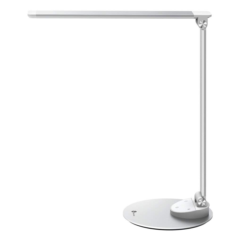 TaoTronics LED Desk Lamp with Memory Function & USB Charging Port