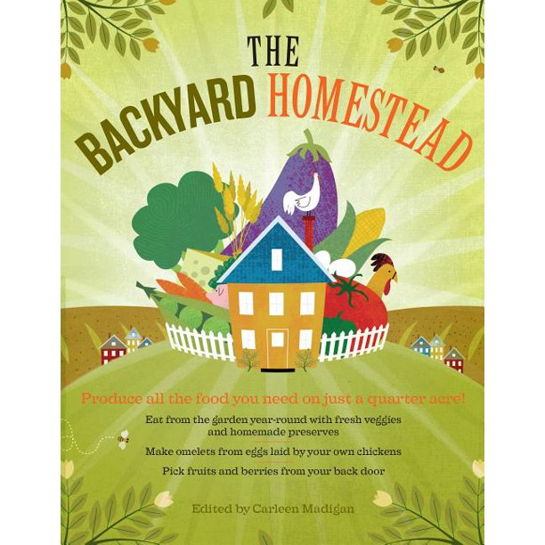 Backyard Homestead - Paperback